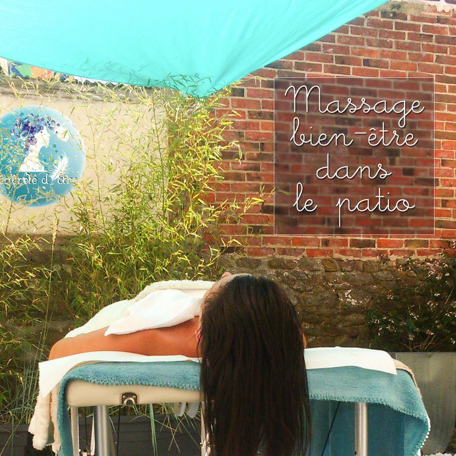 Shampooing massage détente allongé