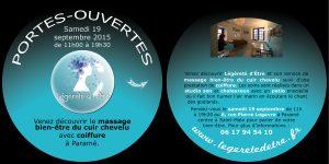 PORTES-OUVERTES le samedi 19 septembre