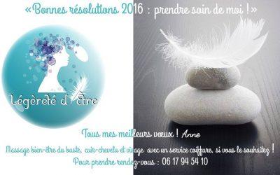 Bonnes résolutions 2016