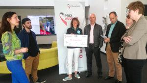 Prix Audace Rennes 2018 décerné à Anne Houal