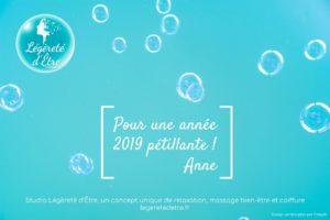 Vœux Légèreté d'Être 2019