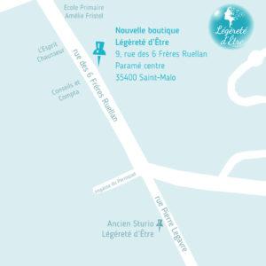 Plan du 9 rue des 6 Frères Ruellan 35400 Saint-Malo