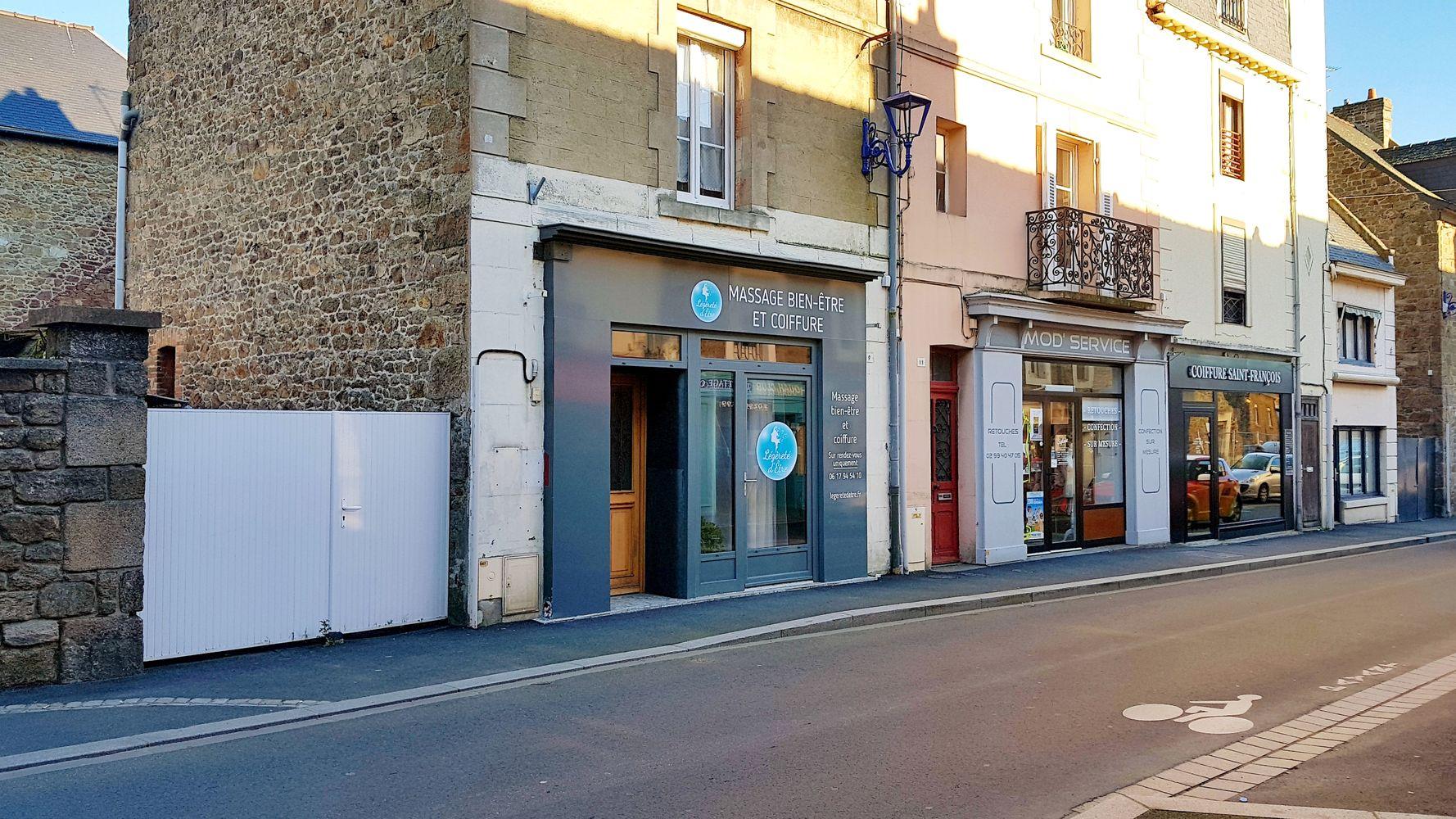 La boutique Légèreté d'Être à Paramé 9 rue des 6 Frères Ruellan 35400 St-Malo