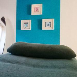 La table de massage de Légèreté d'Être à Saint-Malo