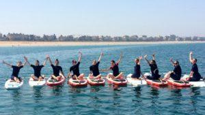 Atelier massage suivi d'une séance de SUP à Saint-Malo