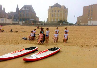 Pack Sup & Massage avec Supéquilibre à Saint-Malo