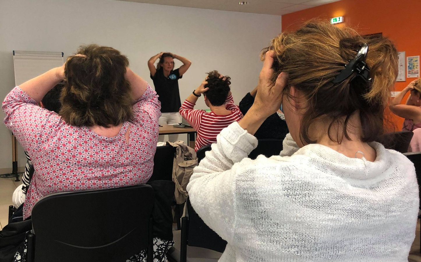 Atelier Légèreté d'Être au 4e salon Destination Bien-être 2019