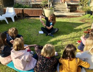 Atelier anniversaire enfants par Légèreté d'Être