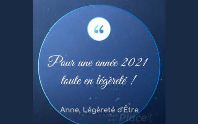 Pour une année 2021 toute en légèreté!