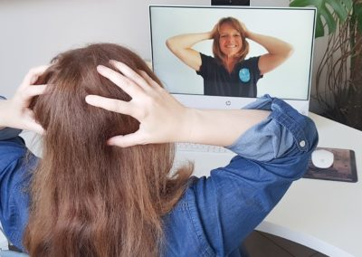 Atelier d'auto-massage en visioconférence