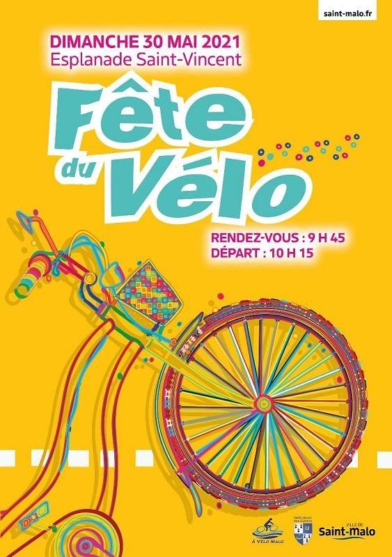 Fête du Vélo de Saint-Malo dimanche 30 mai 2021