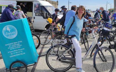 Légèreté d'Être à la fête du vélo de Saint-Malo