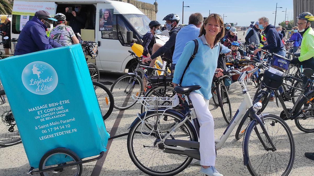 Légèreté d'Être à la Fête du Vélo de Saint-Malo dimanche 30 mai 2021